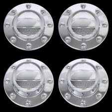 "4 New 2011-2018 RAM 3500 17"" Dually Alcoa Wheel Center Hub Caps Dual Rim Covers"