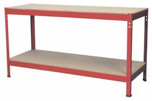 Sealey AP1535 Workbench 1.53mtr Steel Wooden Top SWS21