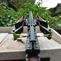 Pistolet Fronde Catapulte Chasse Fusil Tir continu 40 coups Flèche de chasse
