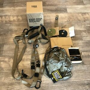 TRX Force Tactical Suspension Trainer Kit Home Gym Fitness Workout Tool DVD