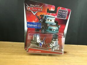 2014 SEALED NEW Disney Cars Heavy Metal Mater Rocky & Eddie Walmart EXCLUSIVE