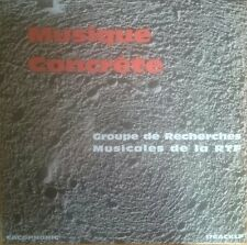 Various Musique Concrete LP Cacophonic Pierre Schaeffer Luc Ferrari Henri Saugue