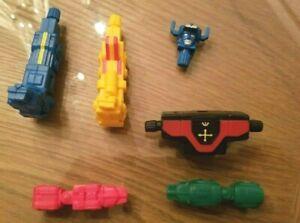 Vintage Rubber Voltron Lion Force Pieces