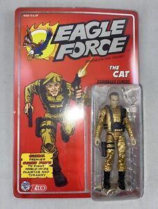 Eagle Force Returns The Cat -  Classic Gold Variant Kickstarter Exclusive
