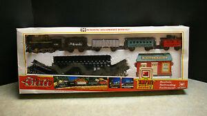 RARE ORIGINAL 1991 'NEW BRIGHT' 'RIO GRANDE' TRAIN SET #171