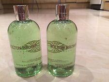 Molton Brown 2 x 300ml Warming Eucalyptus Bath & Shower Therapy BRAND NEW