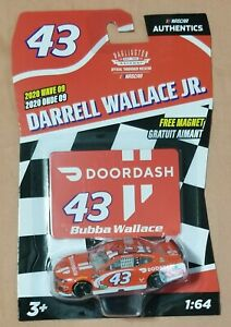 Darrell Bubba Wallace Nascar Authentics 2020 Wave 9 1:64 Doordash Brand New