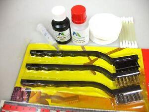 3er Bürsten-Set+ Schmier-Öl 25 ml+ Reinigungs-Öl/ Fluid 50 ml für Loks etc. #Öl7