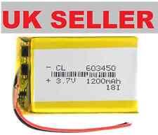 1200mAh Li Polymer Lipo 3.7v 603450 Rechargable Battery Built-in PCB Module
