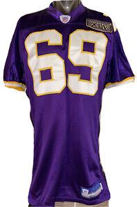 """Minnesota Vikings Jared Allen Reebok NFL Home Purple Jersey Size 46 +2"""" length"""