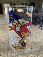Vintage 1977 McDONALDLAND Action Series CAPTAIN CROOK Collectable Glass