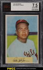 1954 Bowman Willie Jones #143 BVG 7.5 NRMT+
