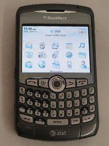 BlackBerry Curve 8310 - Titanium (AT&T) Smartphone
