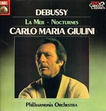 Debussy(Vinyl LP)La Mer etc Carlo Maria Giulini-EMI-SXLP 30146-UK-1962-VG+/NM