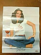 VINTAGE 1970s JACLYN SMITH SAY YES TO MARTINI & ROSSI POSTER RARE