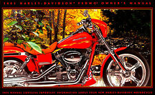 2001 HARLEY-DAVIDSON CVO FXDWG2 WIDE GLIDE OWNERS MANUAL -SCREAMIN EAGLE-FXDWG