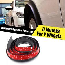 2* Flexible Car Fender Flares Wide Body Wheel Arches Wheel Tires Eyebrow Strip