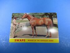 SWAPS Winner of The Kentucky Derby Horse Racing Vintage Color Postcard PC42