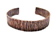 Bracciale Uomo Regolabile Rame In Stile Rustico H1,4 cm Per Uomo/Donna Polsino