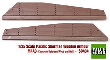 1/35 Pacific Sherman Wood + Concrete Plank Armor M4A3 Set #4 - Value Gear SB434