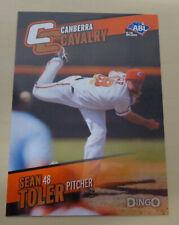2014 SEAN TOLER Australian Baseball - Canberra Cavalry - Kansas City T-Bones