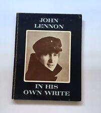 1964 Beatles John Lennon Signed Inscribed In His Own Write Book BAS BECKETT LOA