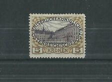 AUSTRIA 1908 5k MLH