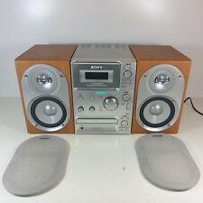 Sony CMT-CP101 Micro Hi-Fi Stereo System AM/FM Radio CD
