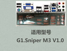 NEW Original Gigabyte I/O IO SHIELD BRACKET FOR G1.Sniper M3 #T3200 YS