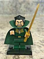 Genuine LEGO Super Heroes Minifigure - Ra's Al Ghul - Complete - sh290
