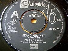 "FOUR OF A KIND - BRAND NEW KEY    7"" VINYL DEMO"