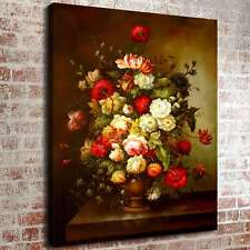 """16""""x20"""" Colored Flowers Home Decor HD Canvas prints Picture Wall art Painting"""