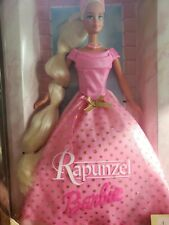 Barbie as Rapunzel in Pink Gown New in Damaged Box