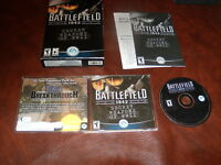 Battlefield 1942 Secret Weapons of WWII Expansion Pack (PC, 2003) CIB & key