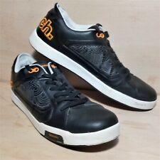 Bench Mens Trainers Size UK 12 / EUR 47 Black/white/Orange Sneakers