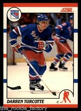 1990-91 Score Canadian #241 Darren Turcotte RC   New York Rangers
