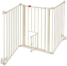 Carlson Pet Product 1510PW Flexi Walk-Thru Gate with Pet Door NEW
