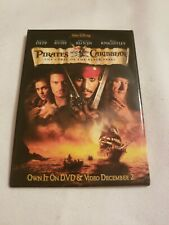 Pirates of the Caribbean The Curse of the Black Pearl Pin back