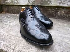 LOAKE ( GORDON SCOTT ) BROGUES – BLACK – UK 12 – EXCELLENT COND-GOOD FOR CHURCH