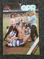 QPR v Tottenham Spurs 1984 Programme 28/4/84! FREE UK POSTAGE! LAST ONE!!!