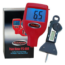 FenderSplendor 688 Paint Meter With $29.95 Digital Tire Tread Depth Gauge *