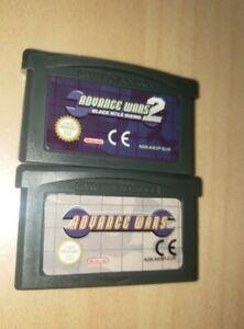 Jeux Game Boy Advance Advance wars 1 et 2