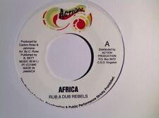 Action records AFRICA / VERSION . RUB A REBELS