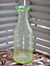 Carafe de bistrot à absinthe en ouraline bullée