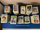 1976-77 Topps Hockey Lot 1400+ Cards VG-EX Condition