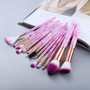 15ps Beauty Makeup Brushes Set Cosmetic Powder Eye Shadow Foundation Brush Tool