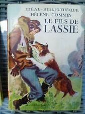 Idéal-Bibliothèque - Hélène Commin - Le fils de Lassie - Hachette (1954)