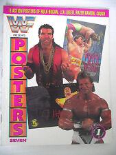 WWE / WWF POSTERS MAGAZINE VOL 7 HULK HOGAN / LEX LUGER / RAZOR RAMON / CRUSH L1