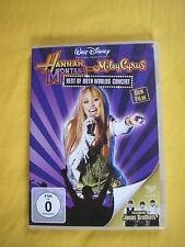 "DVD Disney Hannah Montana und Miley Cyrus ""Best of Both Worlds Concert"""
