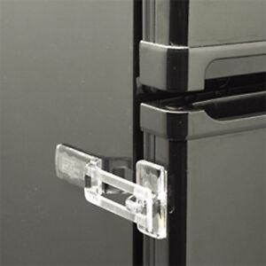 Clear or White Fridge Guard Refrigerator Door Latch Baby Safety Child Lock 61207